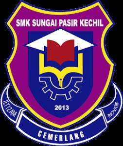 Logo SMK Sg Pasir Kechil Transparent Purple